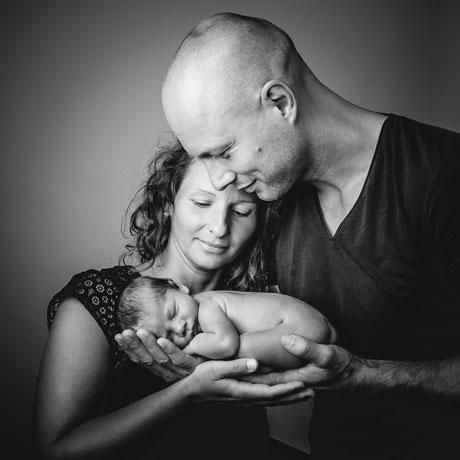Babyshooting mit den Eltern