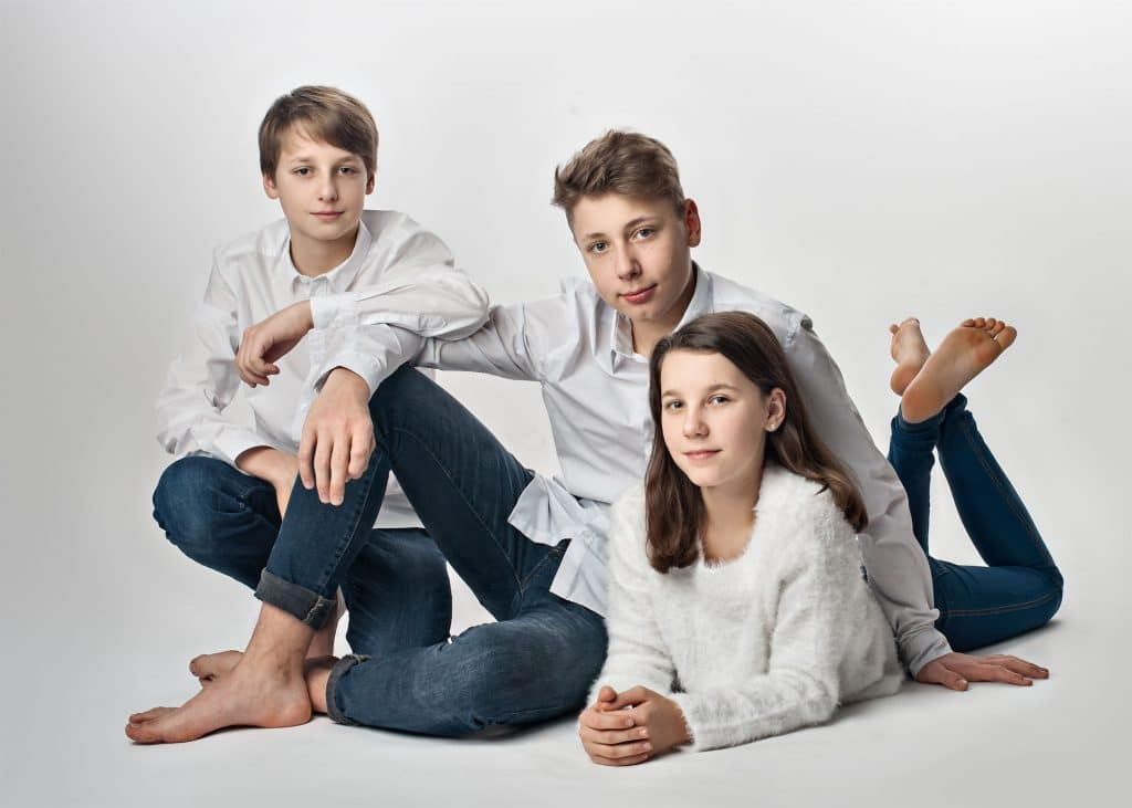 Fotoshooting Familienfotos