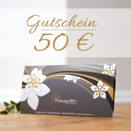 Gutschein Fotoshooting Dresden 50 Euro