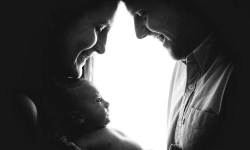 Babyfoto Dresden mit Mama und Papa